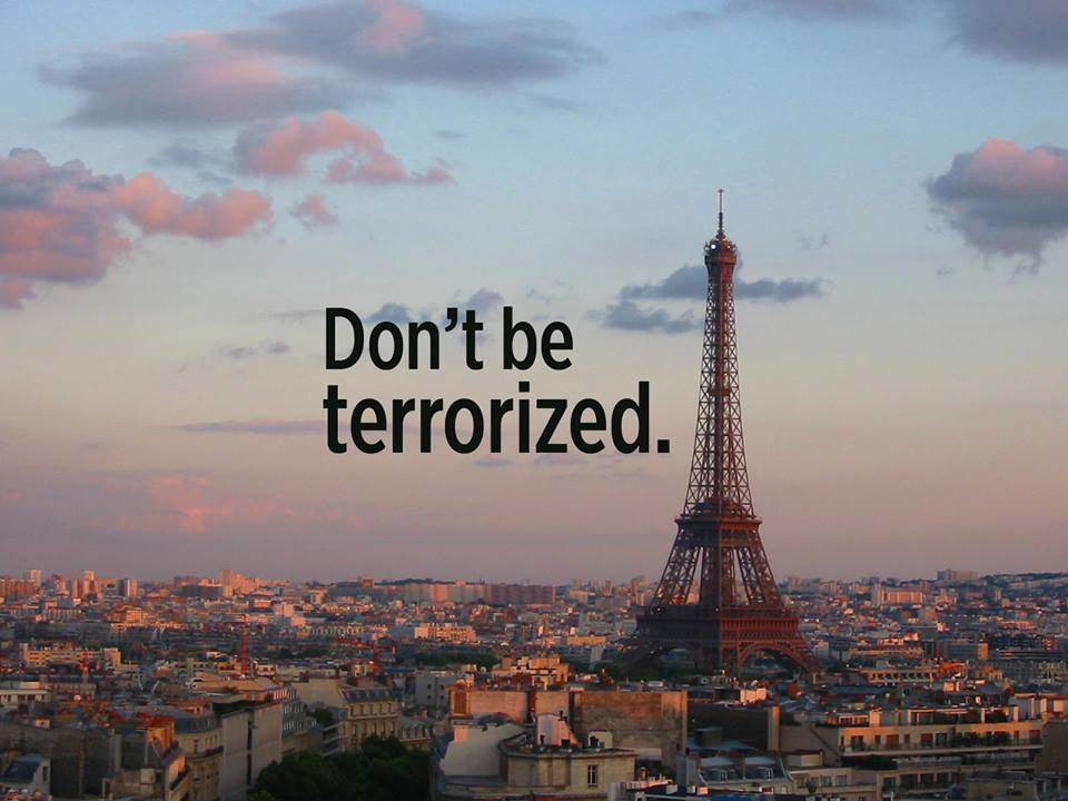 Paris don't be terrorized